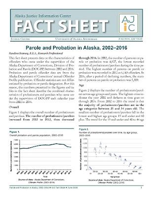 Parole and Probation in Alaska, 2002–2016