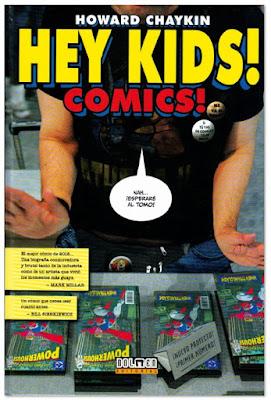 Hey Kids Comics Howard Chaykin edita Dolmen