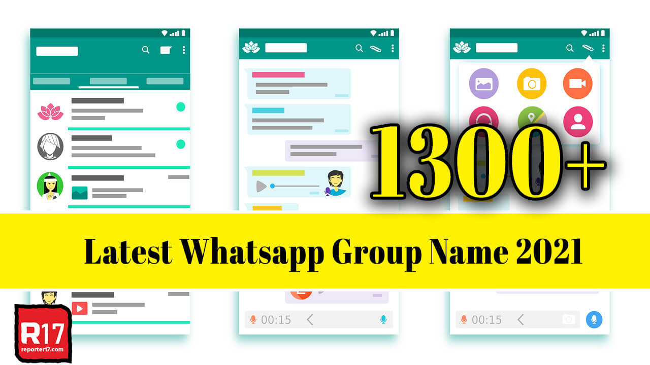 Latest WhatsApp Group name 2021