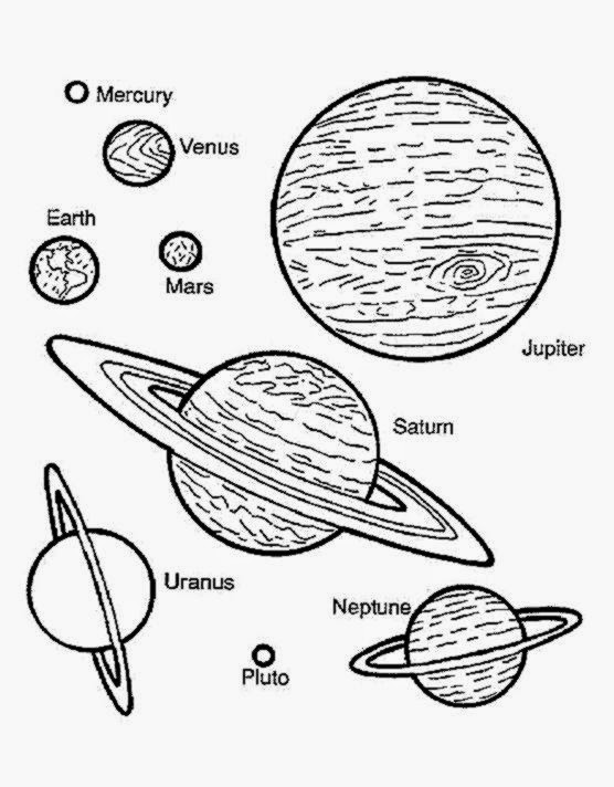 Planet coloring pages printable  Coloring pages coloring pages