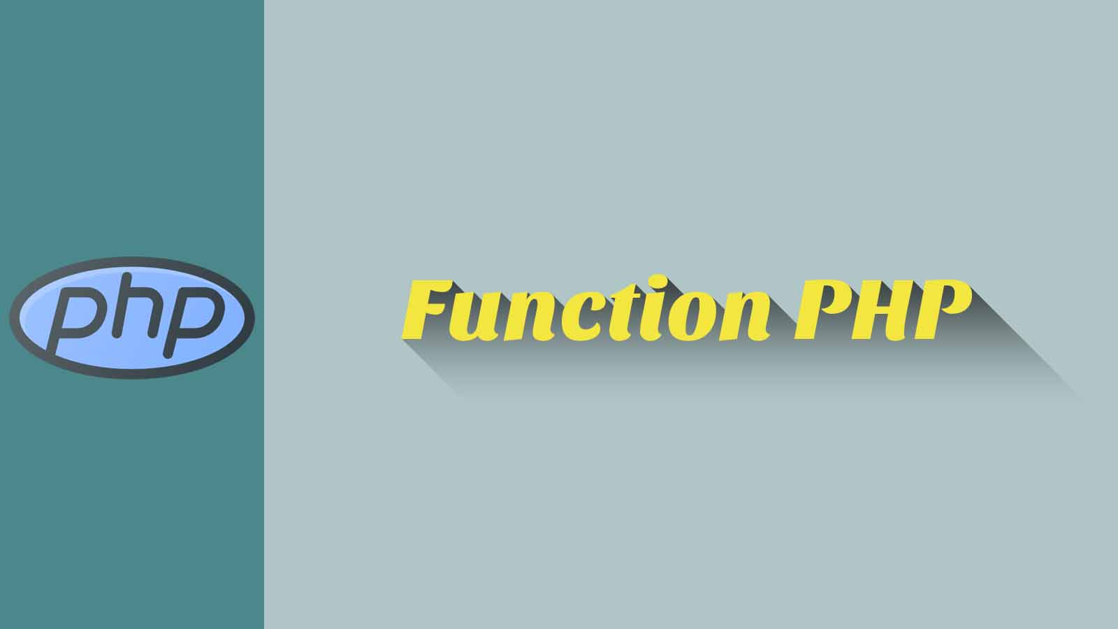 Function PHP