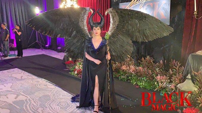 Dimples Romana Black Magic Halloween Party 2019