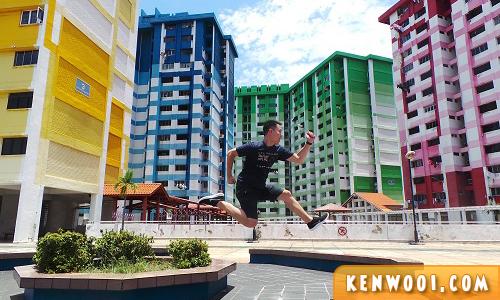 singapore jump shot