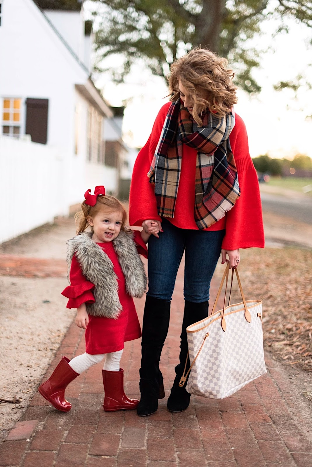 Mommy & Me Holiday Looks - Something Delightful Blog