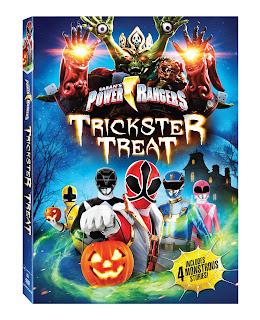 DVD Review - Power Rangers: Trickster Treat