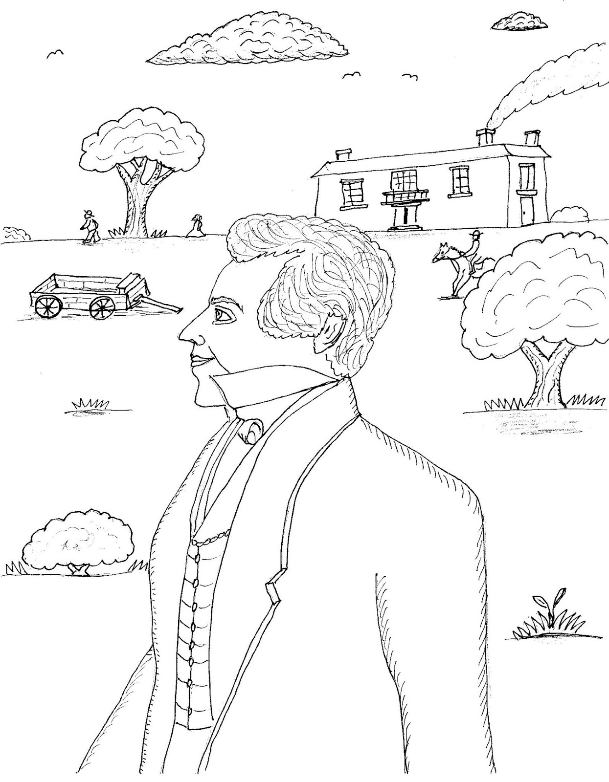 Free Joseph Smith Coloring Pages, Download Free Clip Art, Free ...   1600x1245