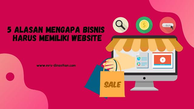 Mengapa Bisnis Harus Memiliki Website