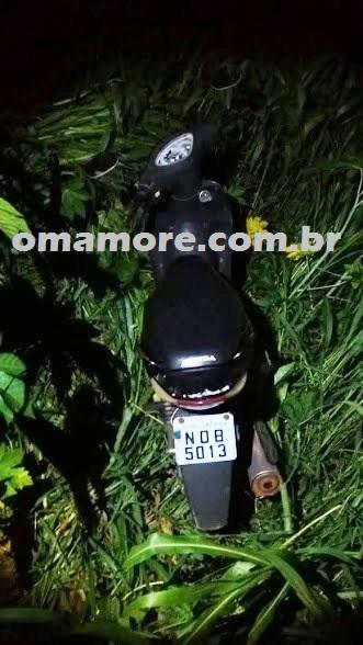 Sevic: Motocicleta é recuperada 5 horas após o furto