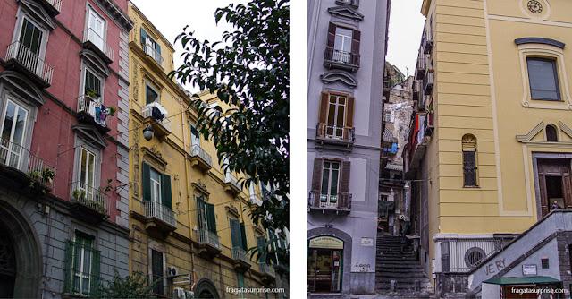 Borgo Santa Lucia, Nápoles, Itália