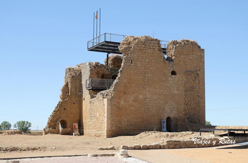 Torre del homenaje del Castillo de Villagarcía de Campos