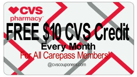CVS $10 promotional reward?