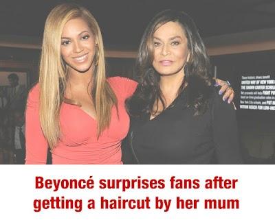 Beyoncé surprises fans after getting a haircut by her mum