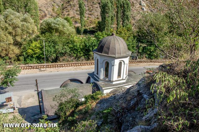 Црква Св. Петка - Велес - поглед од горе