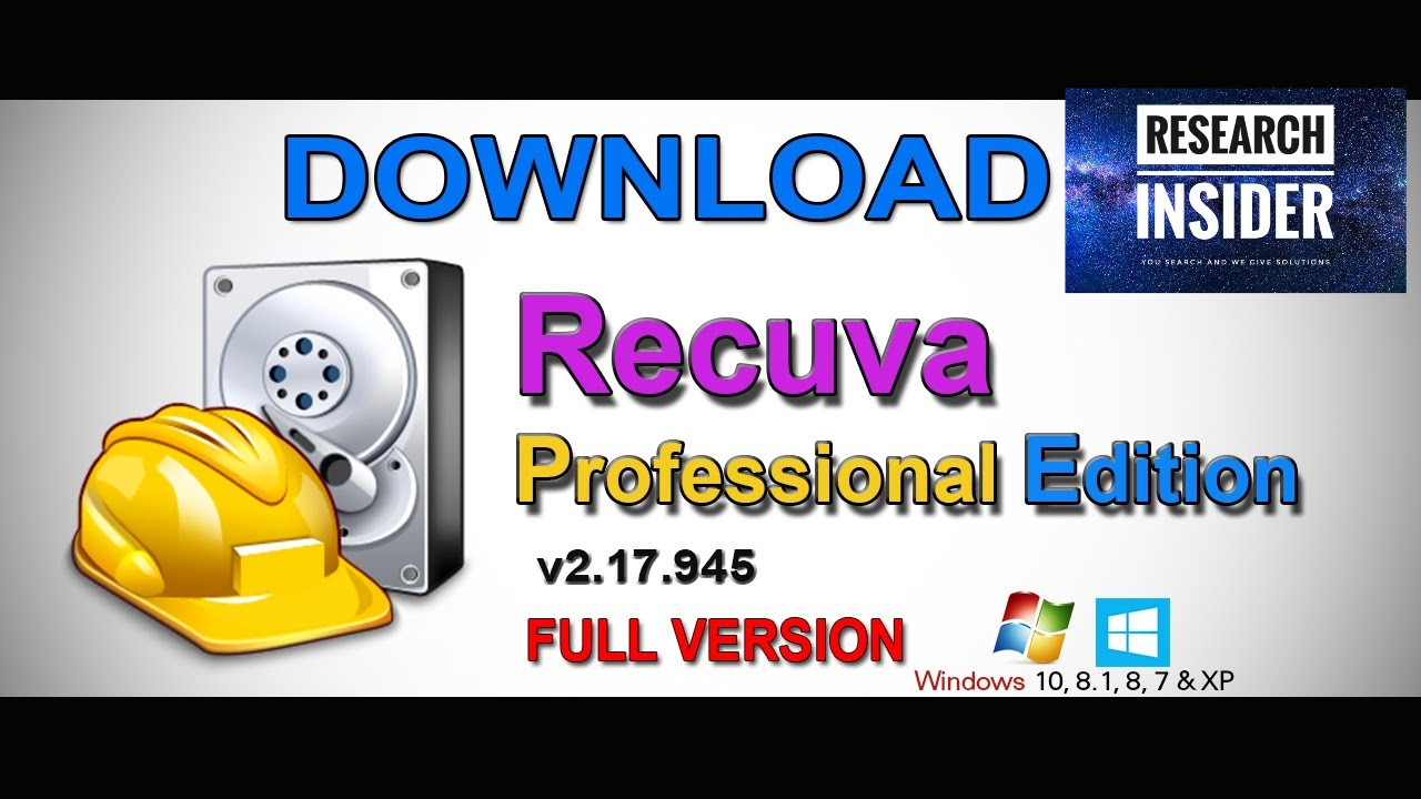 Recuva Professional 1 53 1087 full download with crack - RESEARCH