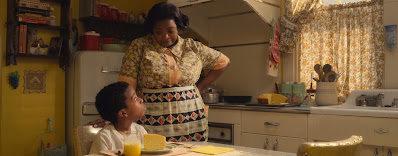 Octavia Spencer and Jahzir Bruno star in the movie Roald Dahl's The Witches