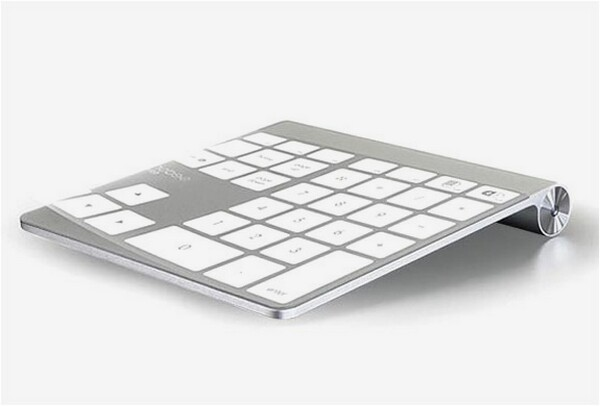 Apple Trackpad plus Numpad