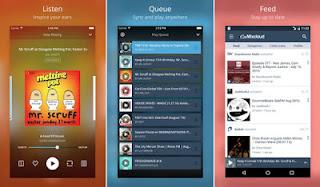 aplikasi android pemutar lagu online