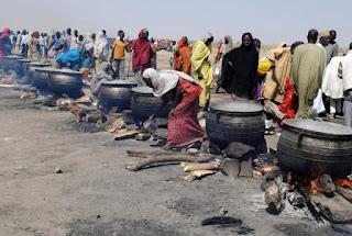 Mata masu ciki sun mutu a turmutsutsun karbar abinci a Borno