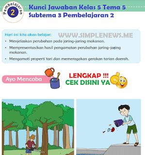 Kunci Jawaban Kelas 5 Tema 5 Subtema 3 Pembelajaran 2 www.simplenews.me