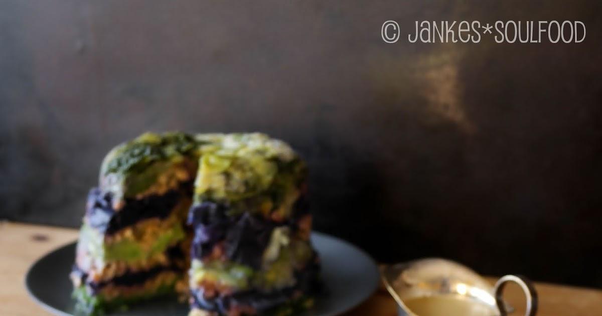 Vegetarischer Krautpudding