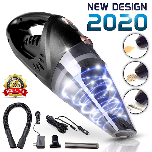 Cordless Rechargeable Car Vacuum Cleaner