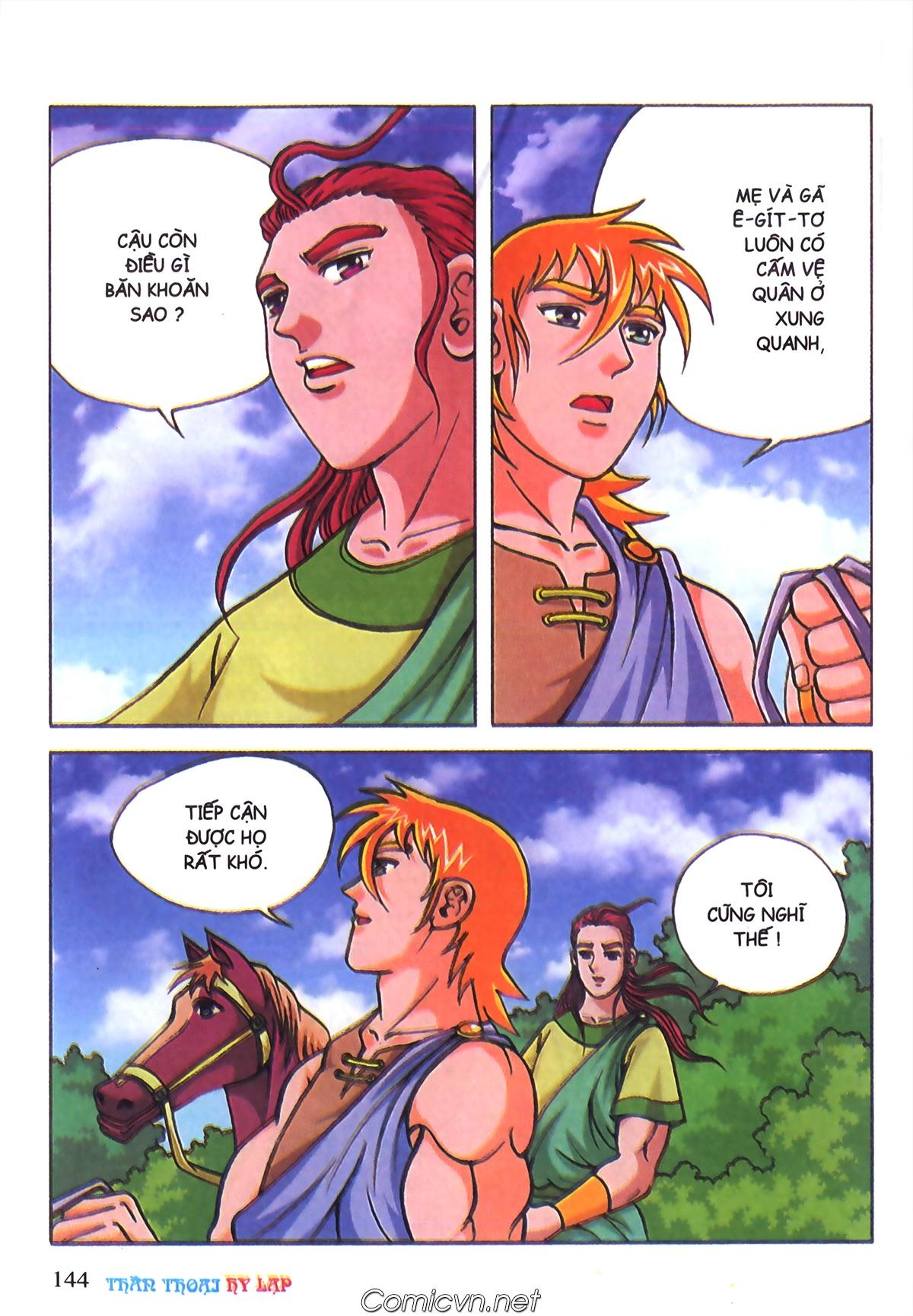 Thần Thoại Hy Lạp Màu - Chapter 70: Nàng Ê lếch tơ - Pic 37