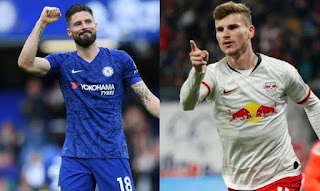 Olivier Giroud is not Scared of Timo Werner at Chelsea