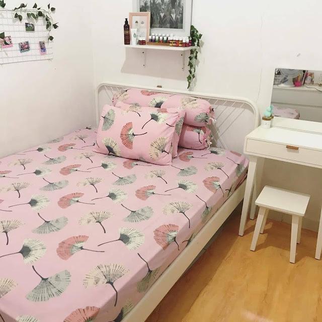Interior Kamar Tidur Ukuran 3x4