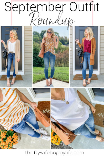 September Outfit Review