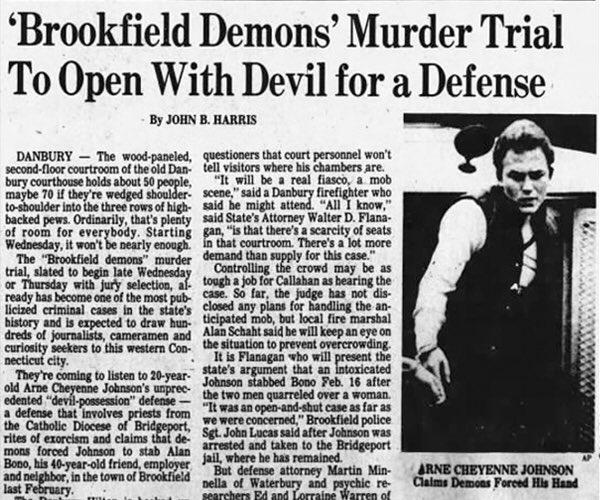 La diabólica y real historia de Arne Johnson, el caso en el que se basa la película 'El Conjuro 3'