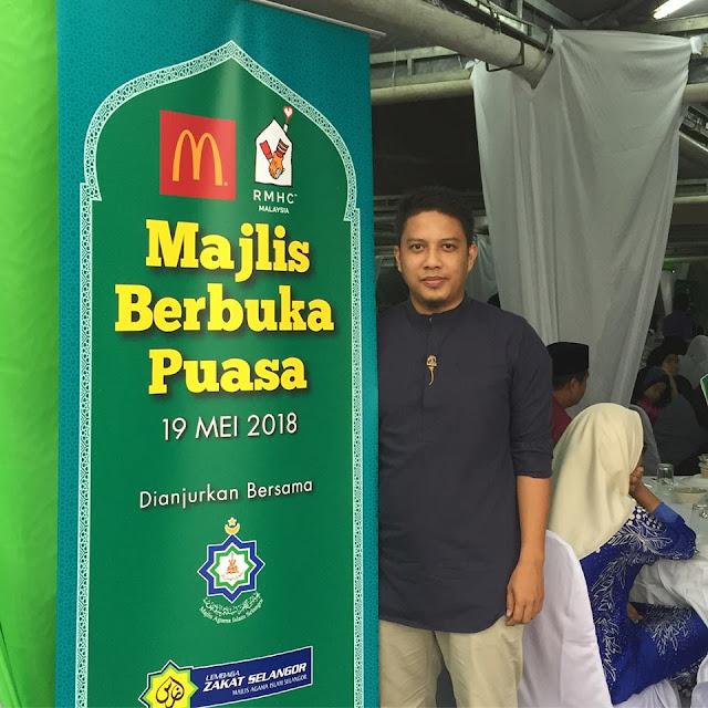 McDonald's Malaysia bayar zakat