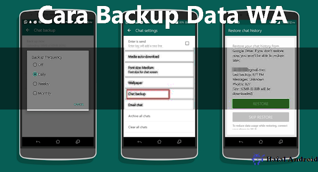 √ 2+ Cara Backup Data WA (Chat, Foto & Video)  Termudah!
