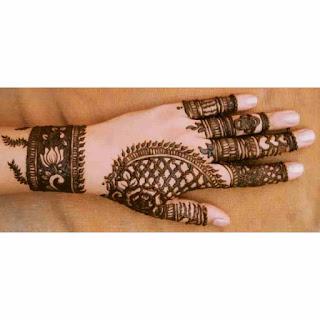 Mehndi Arabic Design Easy