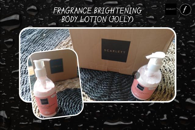 Fragrance Brightening Body Lotion (Jolly) Scarlett