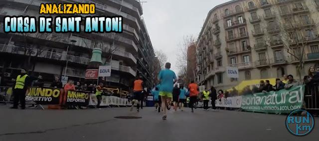 Analizando Cursa de Sant Antoni 2018