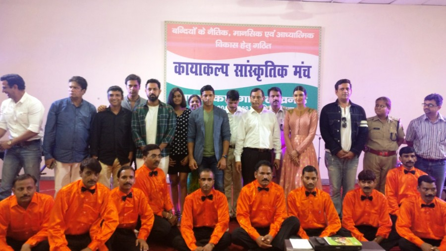 Lucknow Central Cast Welcomed at Adarsh Jail In Lucknow