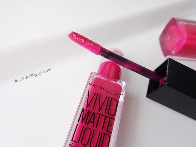 Maybelline Vivid Matte Liquid in Berry Boost