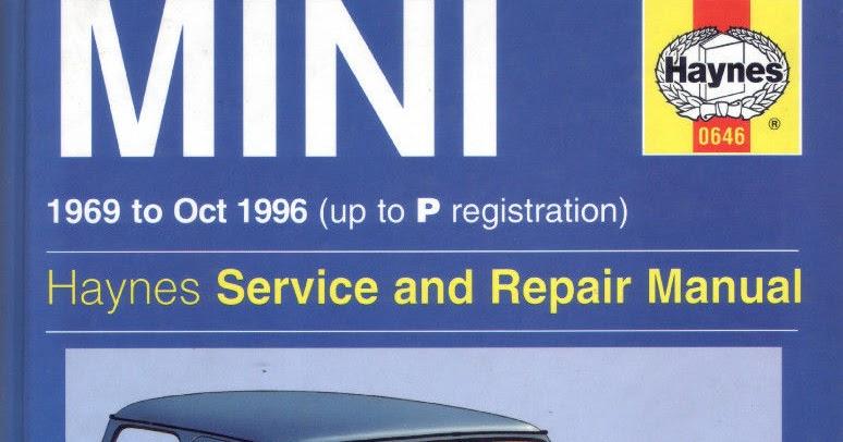 Bmw Mini 1969 1996 Service Repair Manual Automotive border=