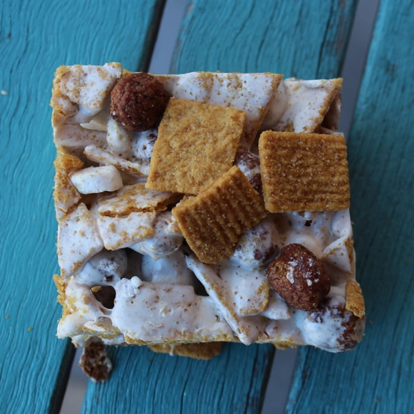 How to make s'mores using s'mores cereal