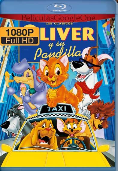 Oliver y su pandilla (1988) [1080p BRrip] [Latino-Inglés] [LaPipiotaHD]