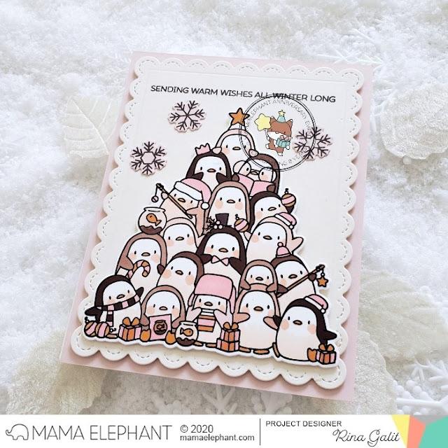 mama elephant | design blog: INTRODUCING : Oh Penguin Tree