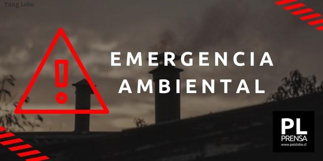 ⚠️Osorno: Emergencia Ambiental para este 21 de mayo