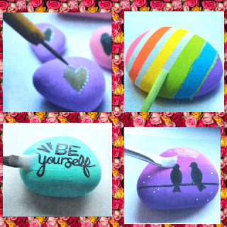 Rock Painting For Beginners collage 2