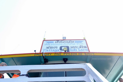 Harga Tiket Kapal Penyeberangan Pattaya Ke Koh Larn (Coral) Island.