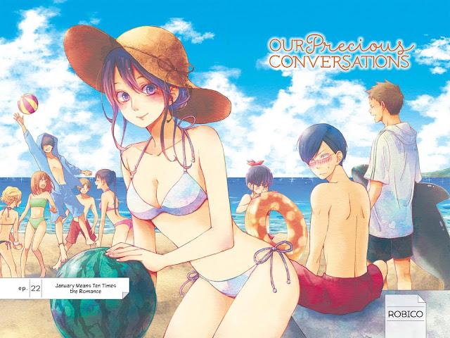 Robico' Our Precious Conversations Manga Termina em Dezembro