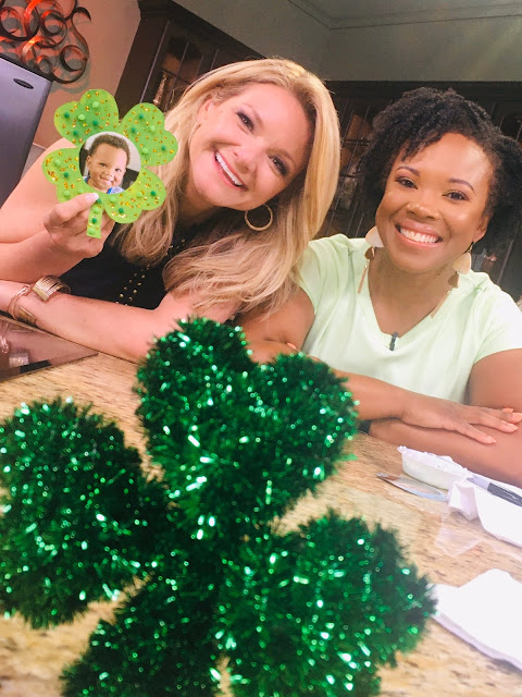 Karimah Henry with Laura Moody on Good Day Tampa Bay on Fox 13 News