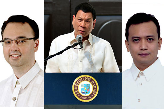 Alan Peter Cayetano defends Duterte and calls Trillanes as a 'Poe-tector'