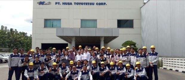 Lowongan Kerja di KIM Karawang PT. Nusa Toyotetsu Engineering