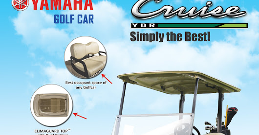 Most outstanding features of Golf cart, is available only with YAMAHA brand | Golfcar