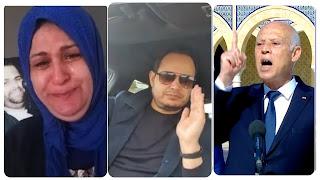 سمير الوافي : رئيس جمهورية فاشل تلاعب بمشاعر ام نذير و سفيان باش يسوق لزيارة ليبيا الفاشلة